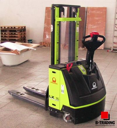 Vysokozdvižný vozík ručně vedený - elektrický